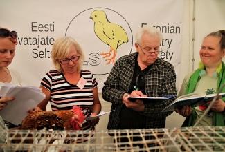 Luige Maaelu Näituslaat, lindude hindamine